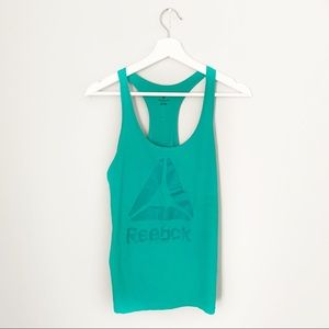 Reebok Green Tank Top
